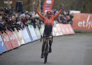 Marianne Vos (CCC Liv) wins Ethias Cross Essen