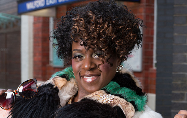 EastEnders actress Tameka Empson, aka Kim Fox, on a fitness mission for Sport Relief