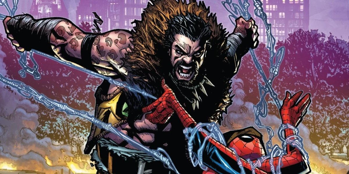 Kraven the Hunter and Spider-Man