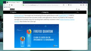 Download the super-speedy Firefox Quantum beta today | TechRadar