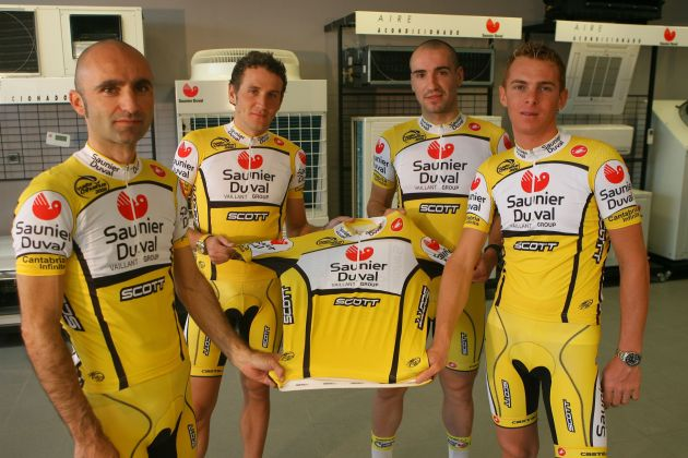 Saunier Duval 2008 jersey