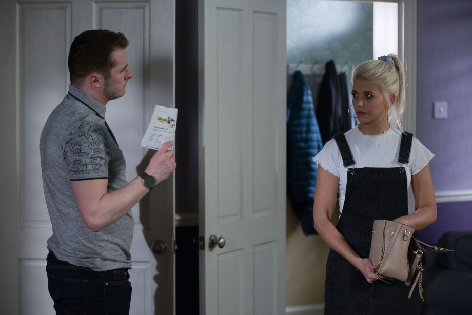 EastEnders Lola Pearce and Ben Mitchell