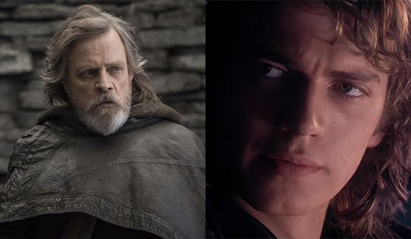 Luke and Anakin Skywalker