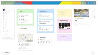 Microsoft Project Moca gestión de proyectos