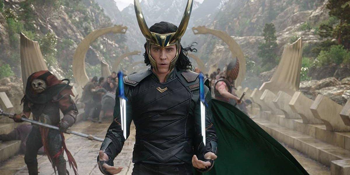 Tom Hiddleston in Thor: Ragnarok