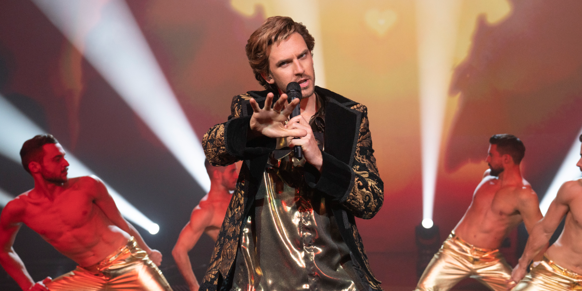Eurovision Song Contest: The Story of Fire Saga Dan Stevens Alexander Lemtov Netflix