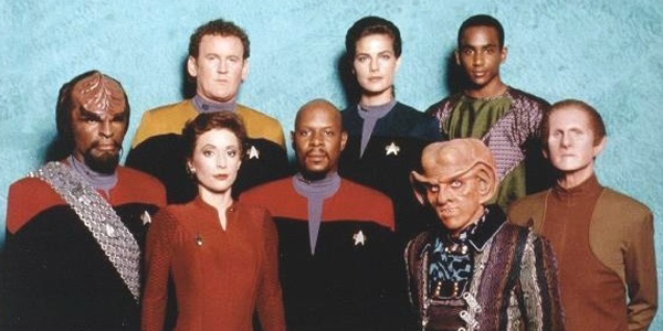 Star Trek: Deep Space Nine original cast CBS