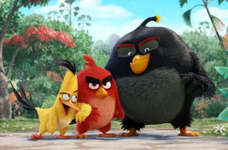 Angry Birds Chuck (Josh Gad), Red (Jason Sudeikis), Bomb (Danny McBride)