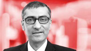 Outgoing Nokia CEO Rajeev Suri.