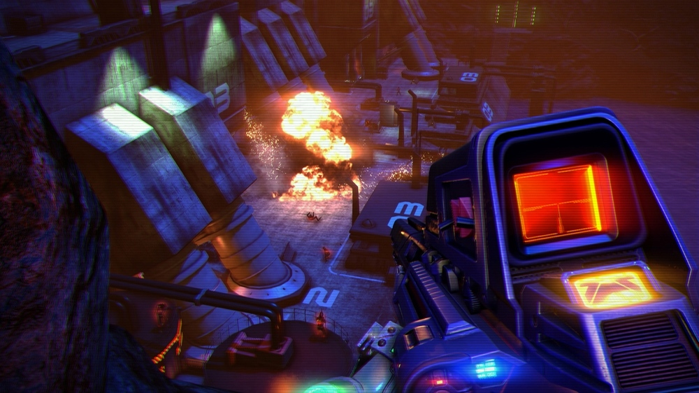 Far Cry 3 Blood Dragon Screenshots, Trailer Are A Beautiful Mess #26260