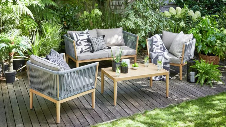 Argos garden furniture: Pascal 4 Seater Sofa Set