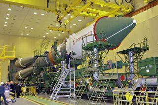 Russia's Progress 69 resupply rocket