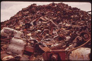 metal scrap thefts