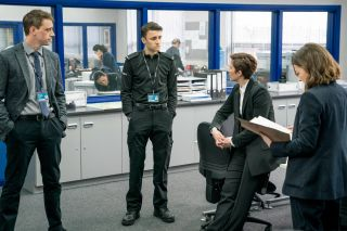 Line of Duty Kate Fleming quizzes Ryan Pilkington.