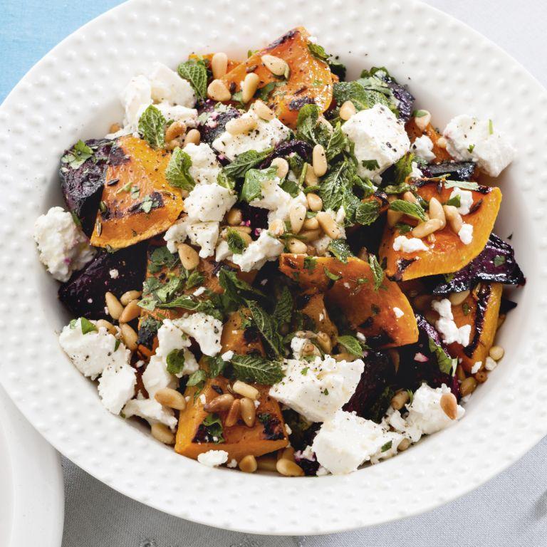 Squash and beetroot salad recipe