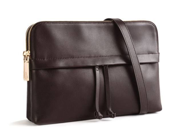 Carrying Your Work Doents Never Looked So Good We Love The Masculine Edge To This Traditional Carrier Gold Hardware Detailing And Intricate Sching