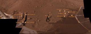 Mars Lander Just Keeps Digging
