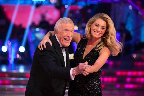 Bruce hosted Strictly with Tess Daly for 10 years (Guy Levy/BBC Children in Need)