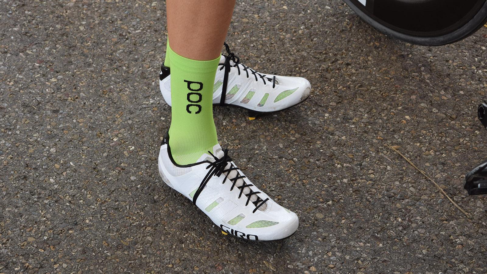 Unseen shoes from Giro at Tour de
