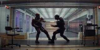 Red Guardian vs. Taskmaster in Black Widow