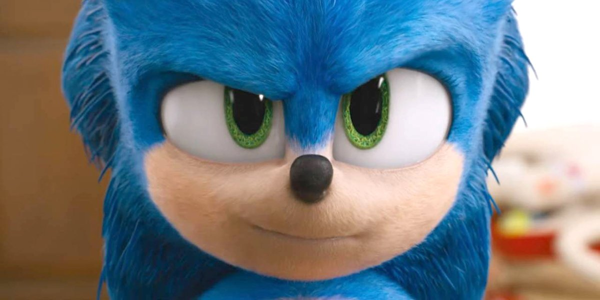 Sonic the Hedgehog looks skeptical you will really see him in the theater
