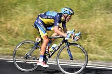 Alberto Contador (Saxo-tinkoff) would gain time on Tour de France leader Chris Froome during stage 13