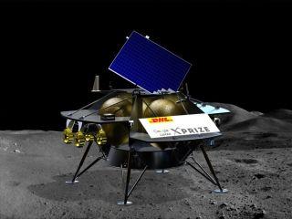 Astrobotic's Peregrine lander art