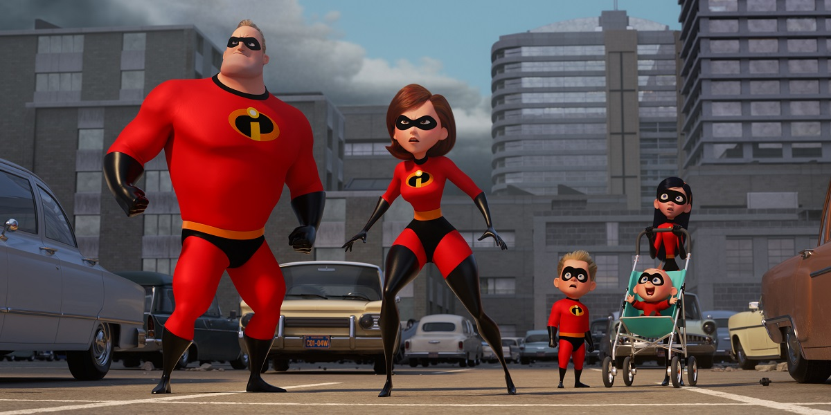 The Incredibles 2 on Netflix