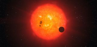 Exoplanet discovered by Kepler satellite