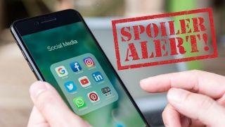 how to block spoilers on social media