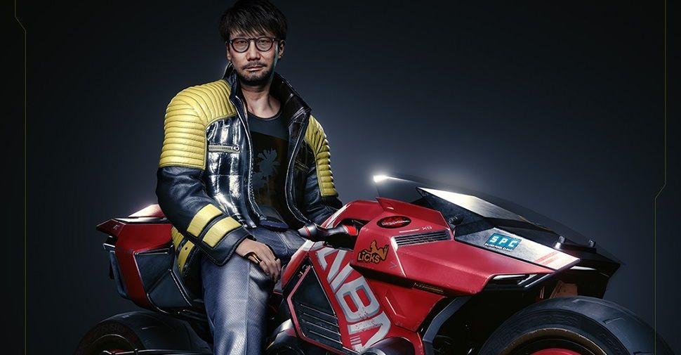 CD Projekt Red tribute shows Kojima as a Cyberpunk 2077 character