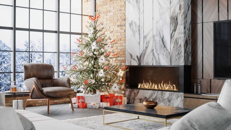 luxury gifts under tree for holidays