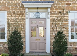 painting a front door is a relatively simple DIY job