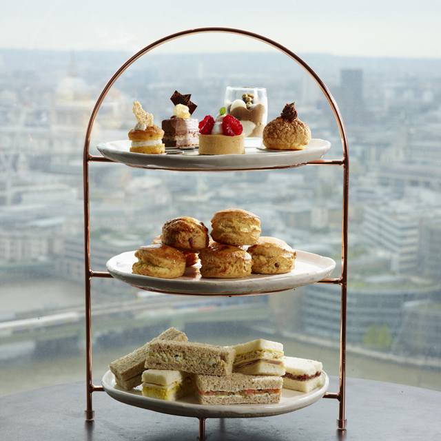 Oblix best afternoon tea london