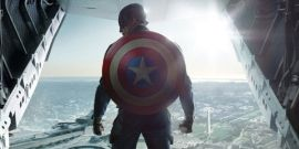 MIT Students Turned The Top Of A Building Into Captain America's Shield
