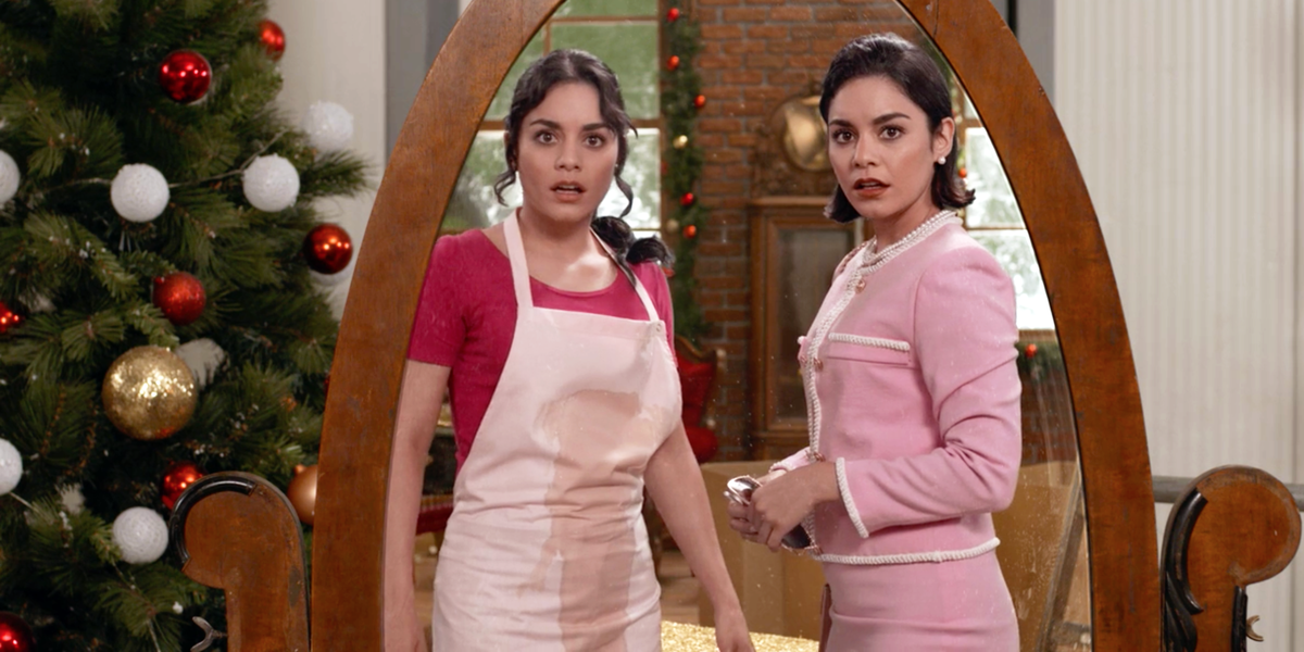 Vanessa Hudgens in the first The Princess Switch.