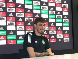 Celtic keeper Vasilis Barkas