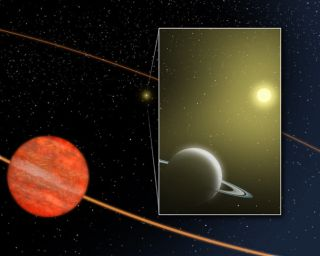 Distorted Solar System Discovered