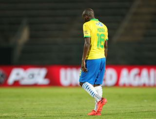 Aubrey Modiba of Mamelodi Sundowns