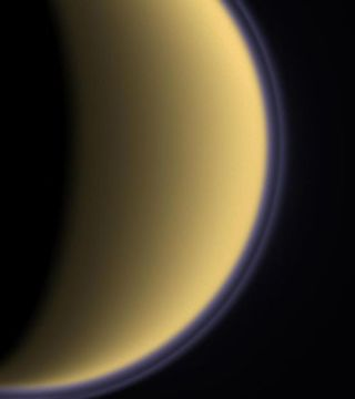 One Saturn Moon Blows Oxygen to Another