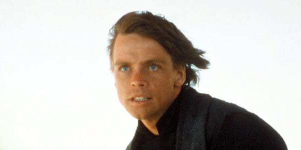Luke in Return of the Jedi