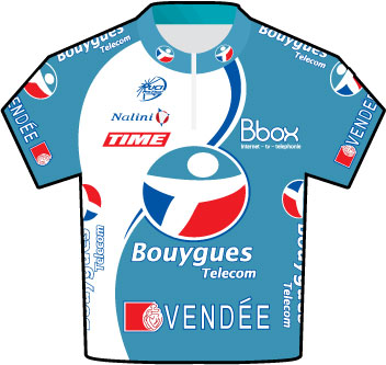 Bouygues Telecom Tour de France 2009 team jersey