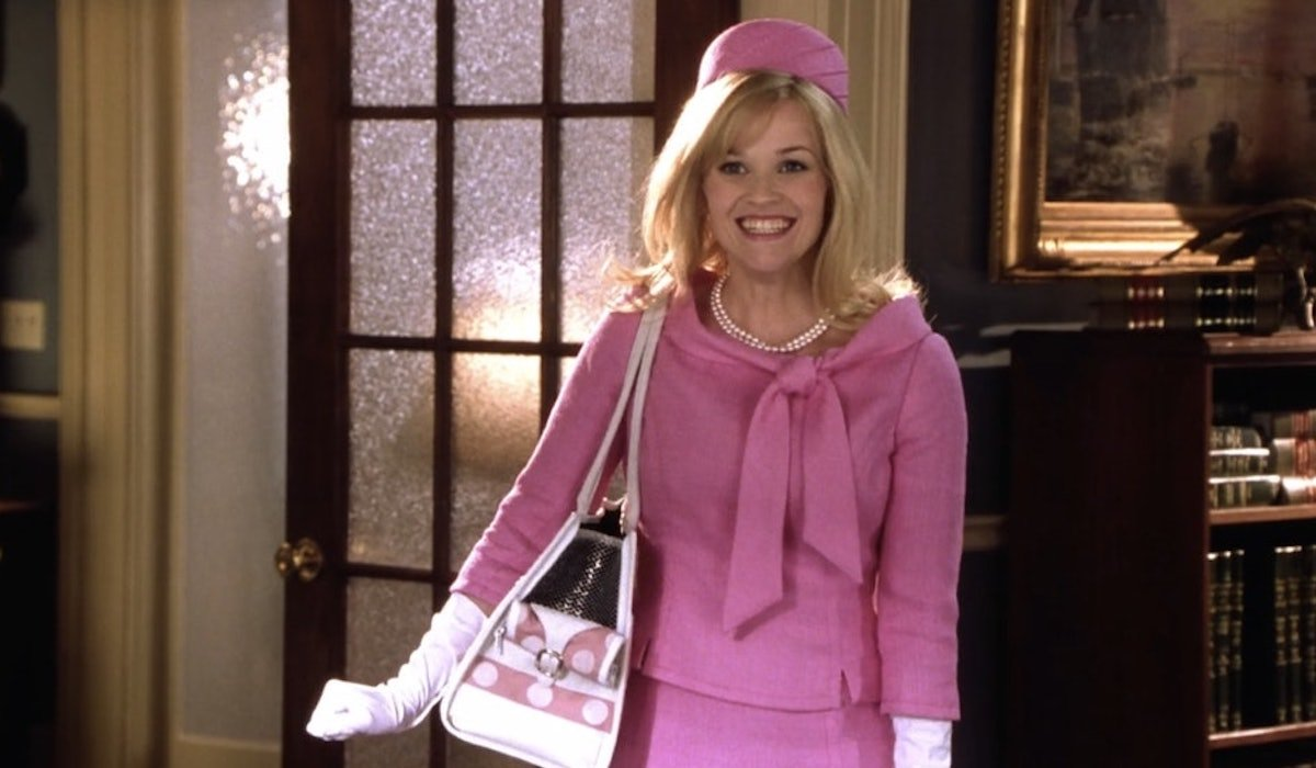 Reese Witherspoon as Elle Woods in Legally Blonde 2: Red, White & Blonde