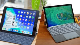 Surface Go 2 vs iPad