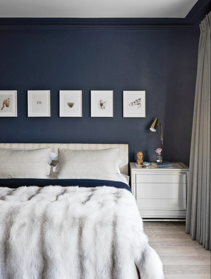 Explore More Modern Bedroom Ideas. Blackout Blue