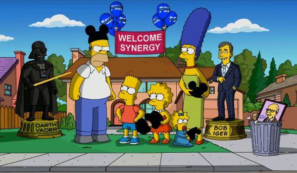 Simpsons Disney promo