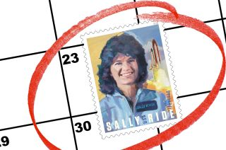 sally ride usps stamp date