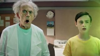 live action Rick and Morty: Christopher Lloyd as Rick, Jaeden Martell as Morty
