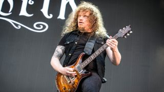 Fredrik Åkesson of Opeth performs live