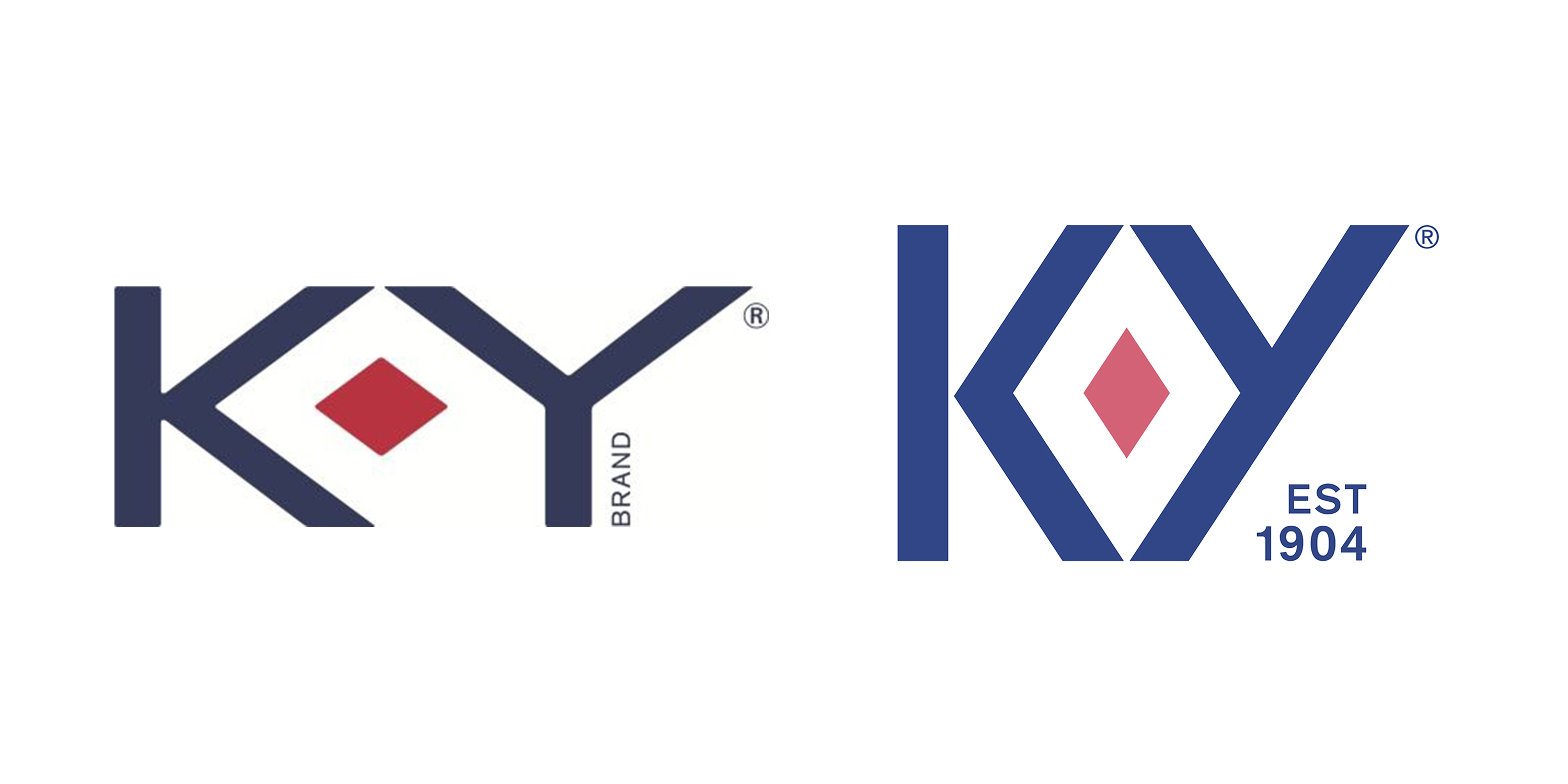 K-Y old and new logo